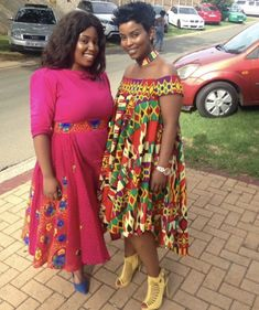 African Fashion | Modern Traditional Fashion | Tsonga | South Africa | Women's Fashion