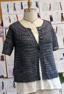 I love this although for me I'd make it longer.  Berroco® Free Pattern | Ditto
