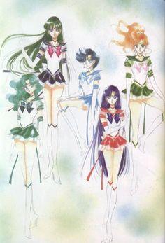 Naoko Takeuchi, Bishoujo Senshi Sailor Moon, BSSM Original Picture Collection Vol. V, Sailor Neptune, Sailor Mars Sailor Moon Stars, Sailor Pluto, Sailor Neptune, Sailor Jupiter, Sailor Moon Crystal, Sailor Mars, Sailor Moon Drops, Arte Sailor Moon, Sailor Moon Manga