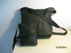 Two JOE Messenger Bags from One Coat. #recycled beautiful