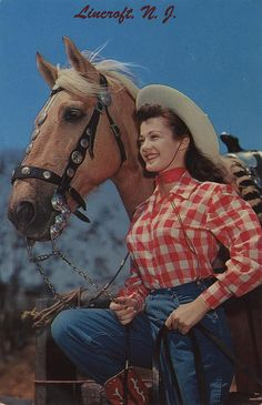 *Cowgirl and her horse<3