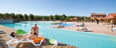 Le Beach Garden Campsite - Perfect for those wanting a truly relaxing family holiday, Le Beach Garden is surrounded by woodland right next to a lovely sandy beach.