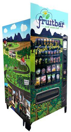 Fresh Fruit Vending Machine - Australia