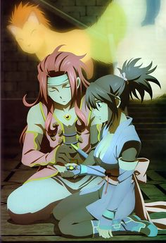 Zelos, Sheena, Tales of symphonia