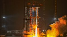 China launches latest trio of Yaogan-30 remote sensing satellites - SpaceNews Long March 5, Signals Intelligence, Remote Sensing, The Expendables, Science And Technology, Product Launch, China, Porcelain