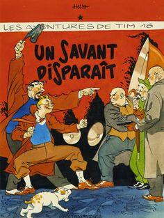 Les Aventures de Tintin - Album Imaginaire - Un Savant Disparaît