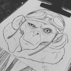 Monkeys Bera - Rótulo - Max Leão