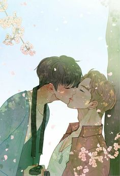 Cute Gay Couples, Cute Anime Couples, Fanfic Namjin, Shirtless Anime Boys, Jikook, Anime Guys, Manga Anime, Cute Couple Art, Cute Girl Drawing
