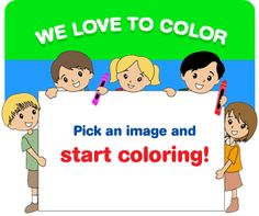 We love to color! Pick an image and start coloring. Free online coloring pages for children. Beach Coloring Pages, Flower Coloring Pages, Colouring Pages, Coloring Sheets, Coloring Book, Free Online Coloring, Free Coloring, Colorful Pictures, Cute Pictures