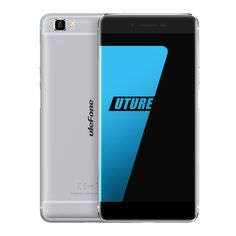 [HK Stock]#Ulefone Future 5.5inch FHD #4G #Android 6.0 MTK6755 #Smartphone Octa Core 4GB #RAM 32GB #ROM 16.0MP Touch ID Type-C OTG Fast Charge - Space Grey