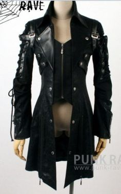 Gothic punk visual kei Japan coat jacket blazer | eBay