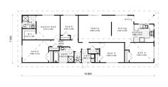 vh138 | A1 Homes Home Design Plans, Plan Design, House Plans, Floor Plans, Exterior, How To Plan, Dining, Homes, House Ideas