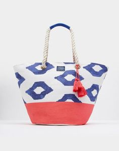 Joules Festival Womens Beach Bag