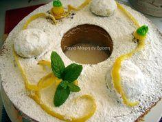Σας περίσσεψαν κουραμπιέδες; Φτιάξτε Κέικ κουραμπιέ με άρωμα λεμονιού Greek Cake, Dear Santa, Diy And Crafts, Menu, Pudding, Favorite Recipes, Sweets, Cooking, Breakfast