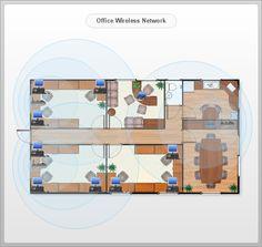 Office Wireless Layout