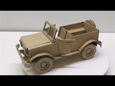 How to make a car from cardboard