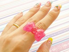 Farykei kawaii rings 3 in a box loltia cosplay harajuku by Aya1gou, $13.00