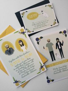 Wow your guests with whimsy, completely custom wedding invitations! This is a design fee for a custom invitation card specially created just for you