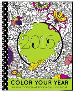 Our Very First Coloring Planner 2016 Calendar