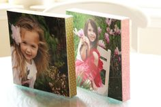 Canvas Photos DIY Revisited - girl. Inspired.