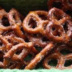 Cinnamon Apple Seasoned PretzelRecipe