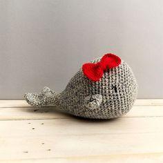 Patrón de ganchillo gratis: Destiny la ballena de Maria Atelier | El blog de Dmc | Bloglovin' Crochet Animals, Crochet Toys, Amigurumi Patterns, Crochet Patterns, Knitting, Sewing, Kids, Handmade, Stuffed Animals