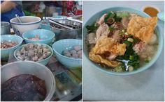 Breakfast at Pasar Ayer Panas @ Setapak. Photo by kyspeaks. Pork Noodles.