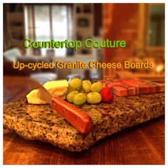 Upcycled Granite Cheese Boards by CountertopCouture on Etsy