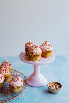 Chocolate Chip Cupcakes with Cream Cheese Frosting