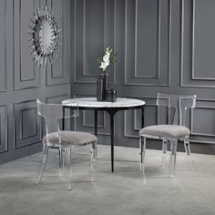 Alchemy Fine Home Modern Tabletop & Luxury Home Decor Luxury Interior Design, Luxury Home Decor, Luxury Homes, Interior Ideas, Modern Tabletop, Dining Chairs, Dining Table, Dining Room, Home Decor Accessories