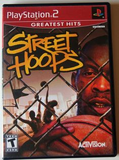 Street Hoops (Sony PlayStation for sale online Street Basketball, Ludacris, Game Item, Playstation 2, Black Ops, Best Graphics, Chicago Bulls, Greatest Hits, Best Games