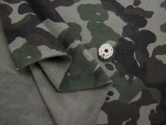 Brushed French Terry Knit Fabric Military Camouflage Khaki By The Yard by FabricBonita on Etsy https://www.etsy.com/listing/211506156/brushed-french-terry-knit-fabric