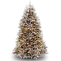 Realistic Fake Trees Pre Lit Sales Close To Christmas
