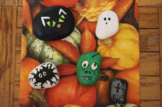 Halloween stenar