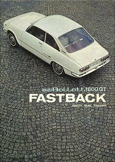 1967年版GTファーストバックのカタログ