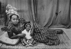 Africa |  Just one of the many fantastic portraits by Seydou Keïta | Through his black & white photographs Seydou Keïta registers the colourful social life in Bamako between 1948 and 1977.
