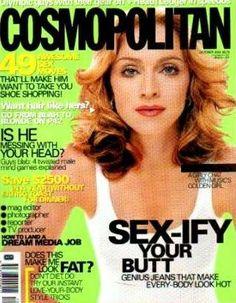 madonna magazine covers 2000