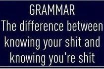Grammar Police Fridge Magnet £1.75