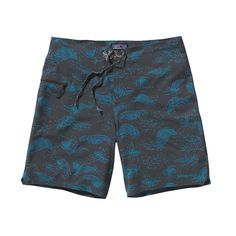 "The Patagonia Men's Stretch Hydro Planing Board Shorts (19"") are high-performing, super lightweight technical board shorts with 50  UPF protection."