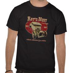 Retro Rat Rod shirt