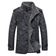 SHARE & Get it FREE | Stand Collar Single-Breasted Epaulet Embellished JacketFor Fashion Lovers only:80,000+ Items • FREE SHIPPING Join Twinkledeals: Get YOUR $50 NOW!