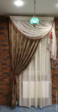 Купить Шторы в Восточном стиле - шторы в гостиную, шторы для спальни, восточный стиль, восточный интерьер