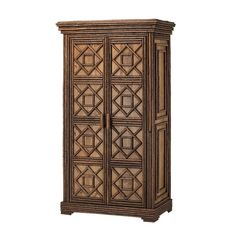 Rustic Armoire 2046  Traditional, Transitional, Organic, Wood, Armoire by La Lune Collection