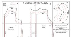 A-Line Dress with Peter Pan Collar_Pattern_Sizes 3, 4, 5.pdf