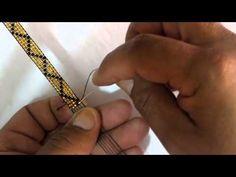 Como hacer una manilla en mostacilla Beading Tutorials, Beading Patterns, Diy Jewelry, Beaded Jewelry, Bead Loom Bracelets, Tear, Loom Beading, Youtube, Google