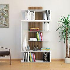 JOKE Libreria - Bianco / Noce - Scaffale per libri - Scaf... http://www.amazon.it/dp/B01C4PBVA6/ref=cm_sw_r_pi_dp_KDGnxb1PV6PRG