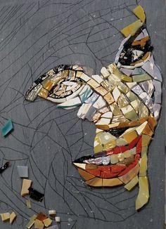 Realism Workshop with Carol Shelkin, Institute of Mosaic Art, Berkeley, CA.