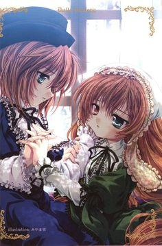 rozen maiden suiseiseki | Rozen Maiden: Souseiseki and Suiseiseki