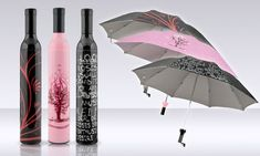 Wine Bottle Umbrella | Groupon | I didn't even know I needed it