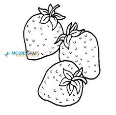 moldes de frutas para patchwork aplique 2